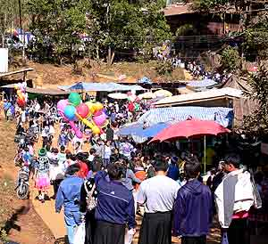 Hmong New Year celebration.