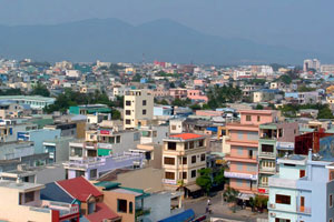 Da Nang panorama - photo by Graham Fyfe