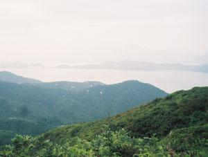 A view of Hong Kong Bay