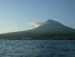 Pico, a dormant volcano