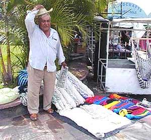 An artisan in Cuernavaca