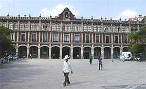 The Plaza de Gobierno