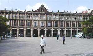 The Plaza de Gobierno
