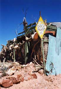 Coober Pedy is home to an inexplicable amount of junk.