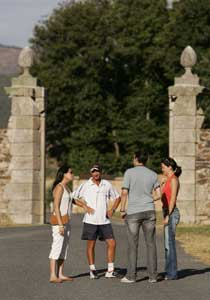 At VaughanTown, Spaniards converse with English speakers in a six-day intensive language program.