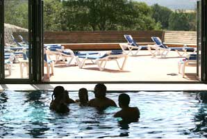 The pool at Hotel Puerta de Gredos