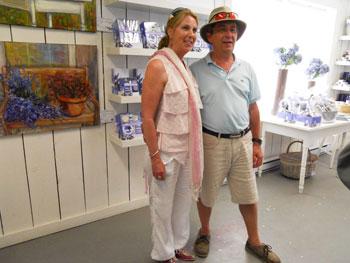 Pierre and Christine Pellerin