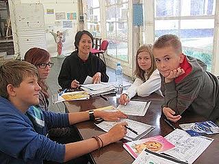 Teaching English in Poland. photo: Global Volunteers.