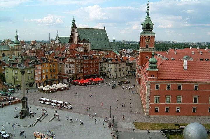 Royal Castle Square, Warsaw.
