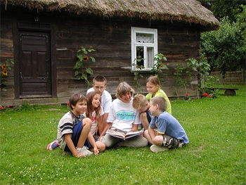 Summer camp in Poland. photo: Global Volunteers.