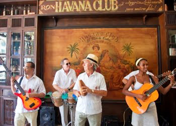 Musicians jam at the Havana Club. Photo by Robin Thom