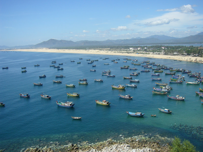 Coastline at Quy Nhon, Vietnam.