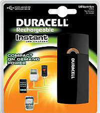 duracell usb instant charger
