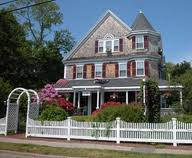 The Palmer House Inn on Palmer Ave. in Falmouth Village