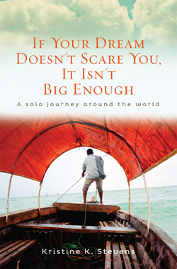 if your dream doesn't scare you it isn't big enough