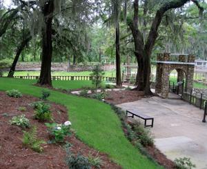 Radium Spring Gardens in Albany.
