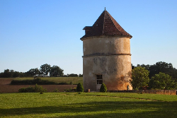 Domaine de Mirane, where you can sleep in a converted watchtower