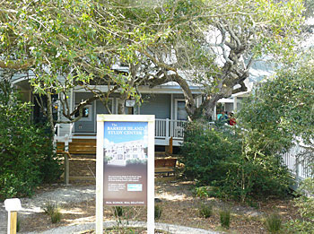 Barrier Island Study Center, Bald Head Island South Carolina.