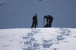 Snowshoeing at Mt Baker National Park.
