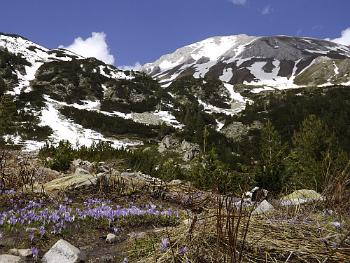 Bulgaria mountains.;