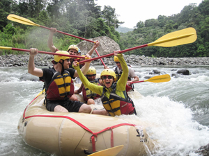 Whitewater rafting in Costa Rica. Paul Shoul photo.