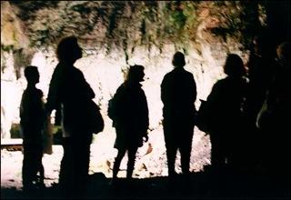 Idean cave shadows