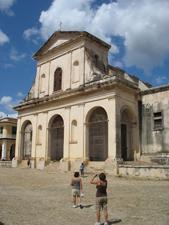 The church at Trinidad de Cuba.