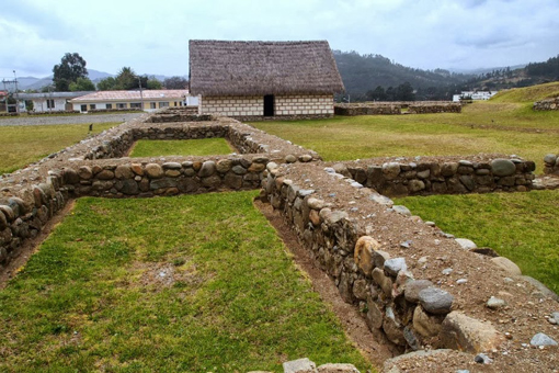 Pumapungo Archeological Park in Cuenca, where Inka ruins can be explored.