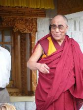 His Holiness, the Dalai Lama.