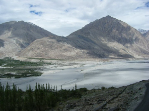 Awe inspiring scenery that takes your breath away in Ladakh.