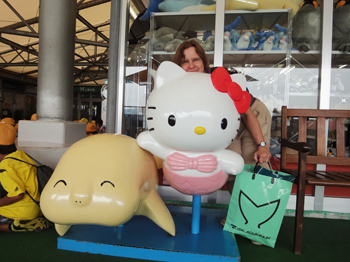 Hello Kitty, Dugong, and $300 worth of dugong souvenirs.