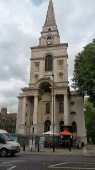 Spitalfields church.
