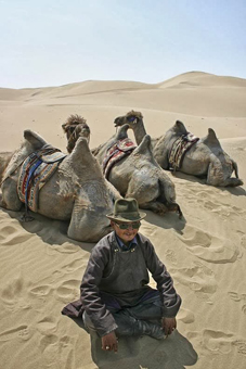Mongolia camel master