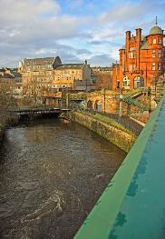 Glasgow's river.