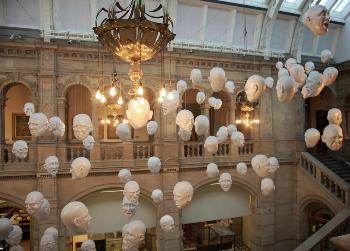 Kellingham museum, Glasgow. Janis Turk photo.