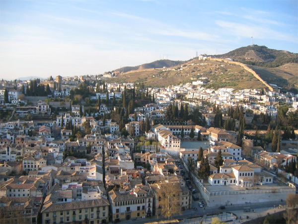 City view of Granada, Spain. Tristan Cano photos.
