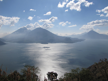 Lake Atitlan, Guatemala...one of the author's favorite places. photo by Jonathan Engels.
