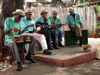 Music is everywhere in Havana. photo by HR Ridge.