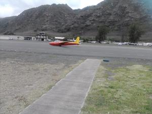 A safe landing at Dillingham field.