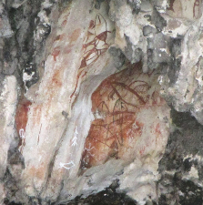 Some of the rock art of Misool.