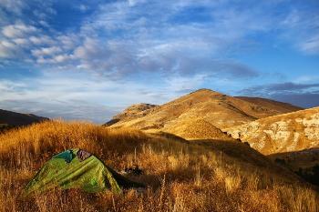 Campsite in Kurdistan.