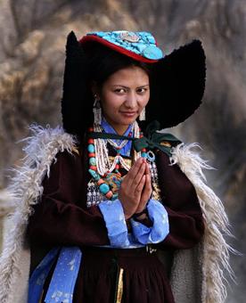 Lamayuru woman