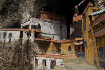 Phuktal Gompa  settlement.