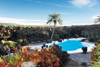 Kings Pool, Jamesos de Agua, Canary Islands. photo by Jill Franz.