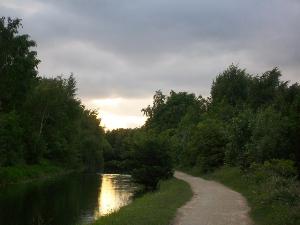 Greenygrey canal