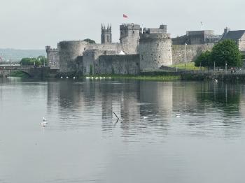 King Johns Castle in Limerick.