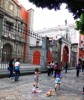 The beautiful city of Puebla, Mexico. Hannah Yu photos.