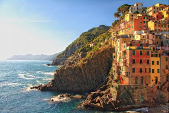 Cinque Terre, coast of Italy.