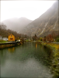 The village of Flam, in Norway's Fjordlands. photos by Autumn Thomas