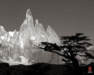 An Andean peak.